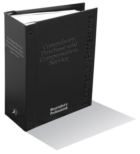 Compulsory Purchase and Compensation Service, edited by members of Francis Taylor Building