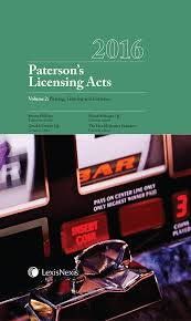 Paterson's Licensing Acts 2016