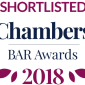 Shortlisted Chambers and Partners Bar Awards 2018