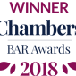 Winner Chambers and Partners Bar Awards 2018.