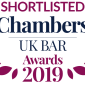 Chambers and Partners Bar Awards 2019