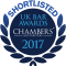 Chambers and Partners Bar Award nominee 2017