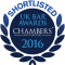 Nomiated for Chambers and Partners Bar Awards 2016